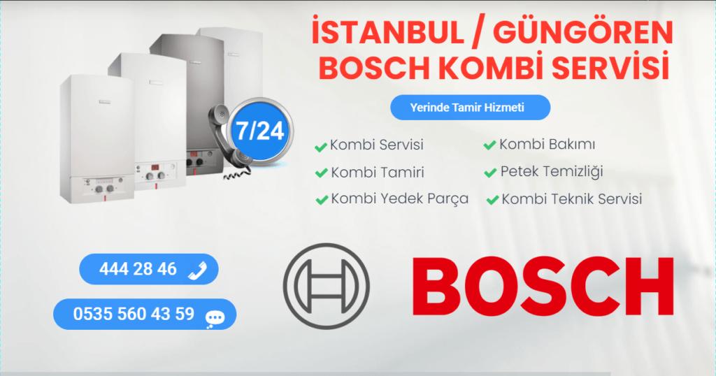 Güngören Bosch Kombi Servisi