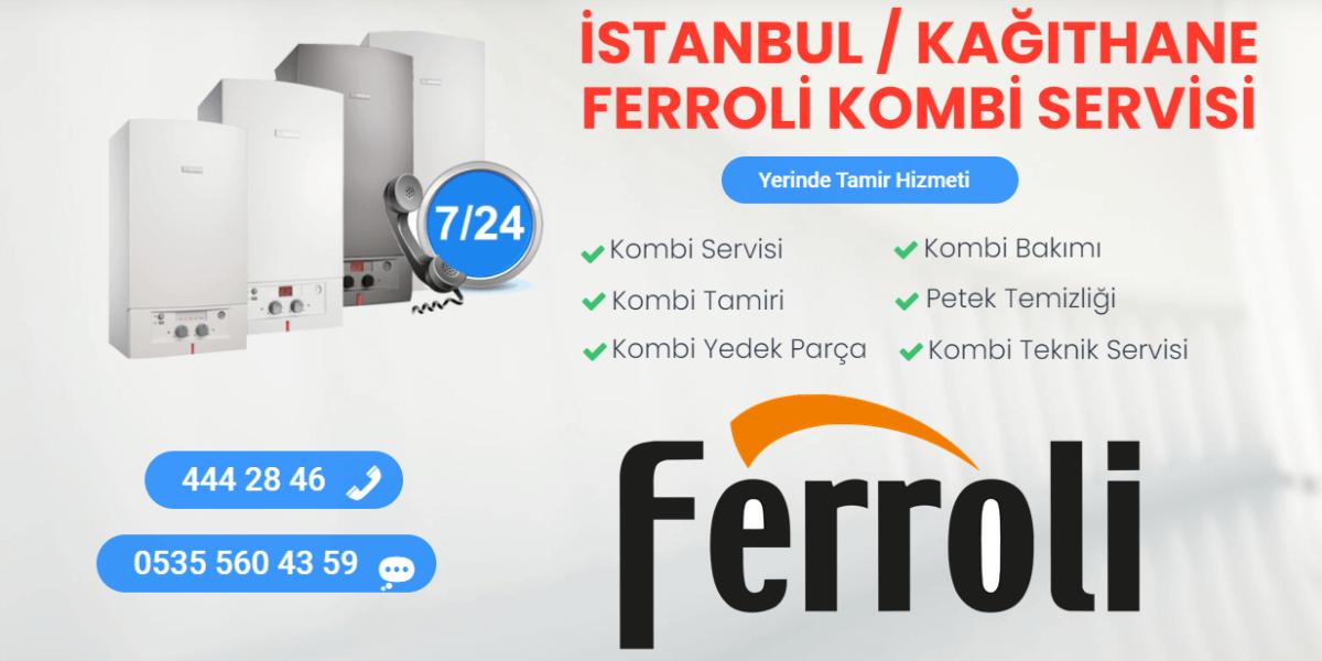 kağıthane ferroli kombi servisi